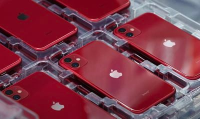 iphone assembly trays