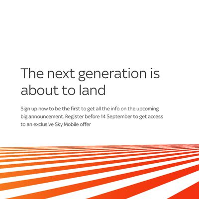 sky the next generation is about to land