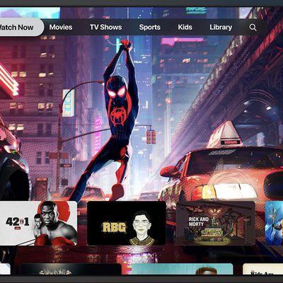 apple tv app redesign