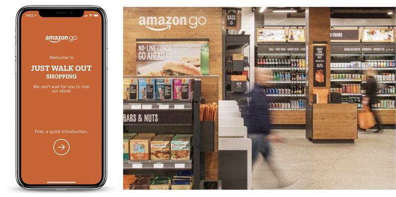 Amazon Opens Checkout Free Amazon Go Grocery Store To The Public