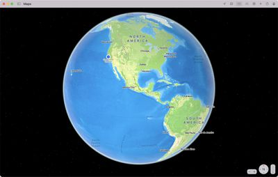 maps monterey globe view