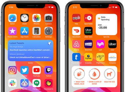 ios 14 third party home screen widgets 2
