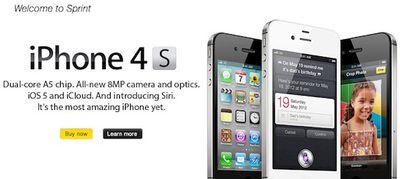 sprint iphone 4s buy now