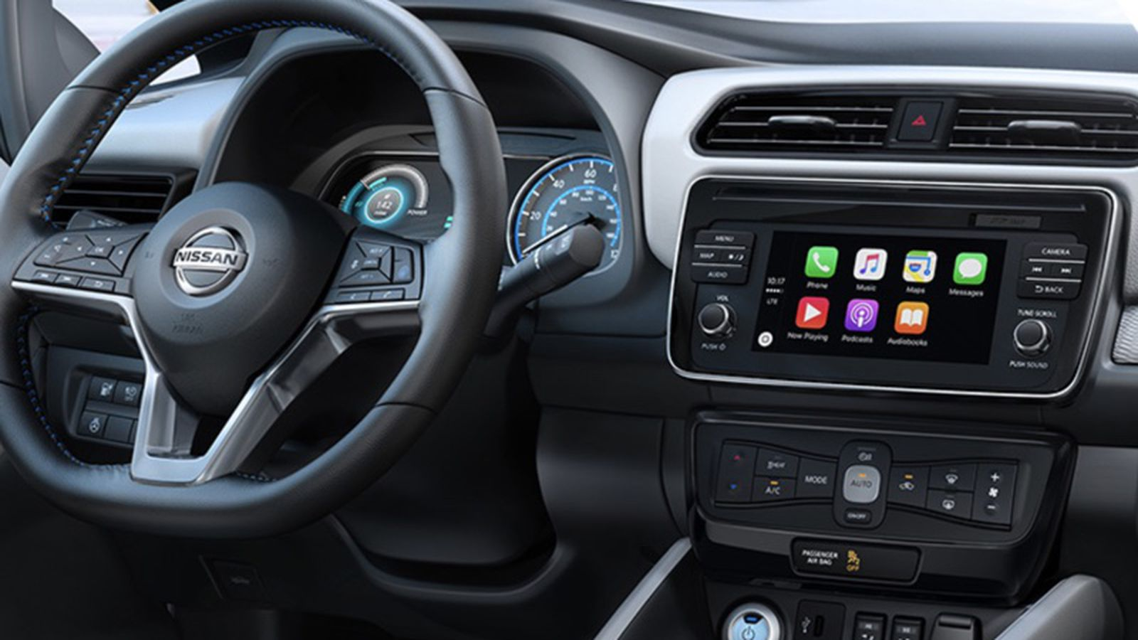 New 2018 Nissan Leaf Features Support For Carplay Macrumors