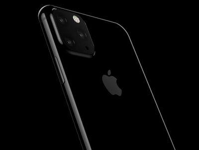 2019 iphone triple camera rendering