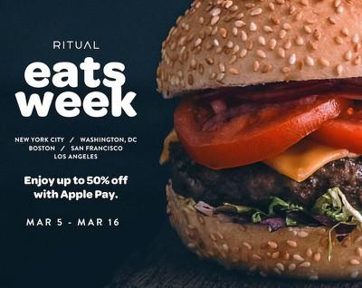 ritual eats week