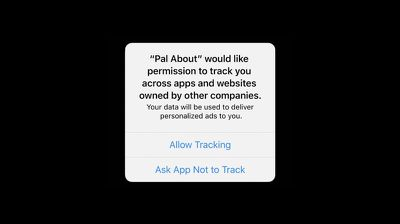 app tracking pop up ios 14