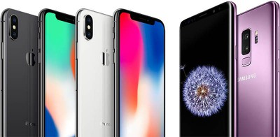 iphone x vs galaxy s9