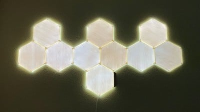 nanoleaf wall white light
