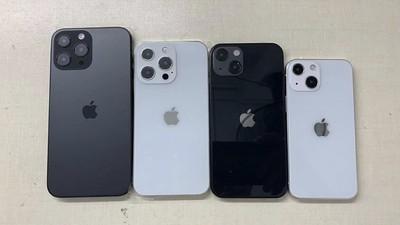dummy models of the iphone 13 range
