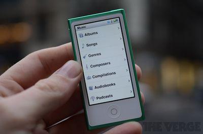 verge ipod nano 2012 review