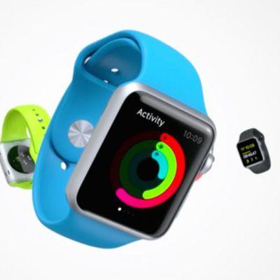 apple watch activity blue