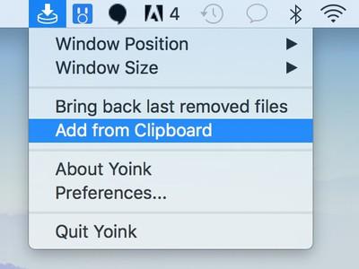 yoink clipboard
