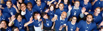 104556 apple retail employees