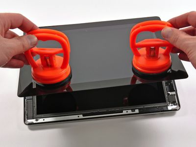 ifixit ipad suction cups