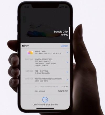 apple pay transaction apple card