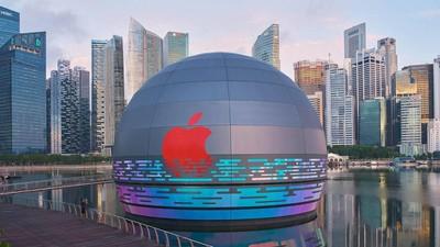apple marina bay sands singapore