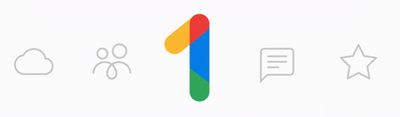 Google One storage