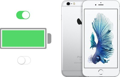 iphone 6s battery toggle