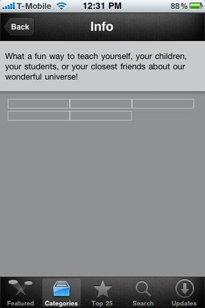 app store display anomalies