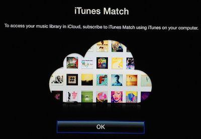 apple tv itunes match activate