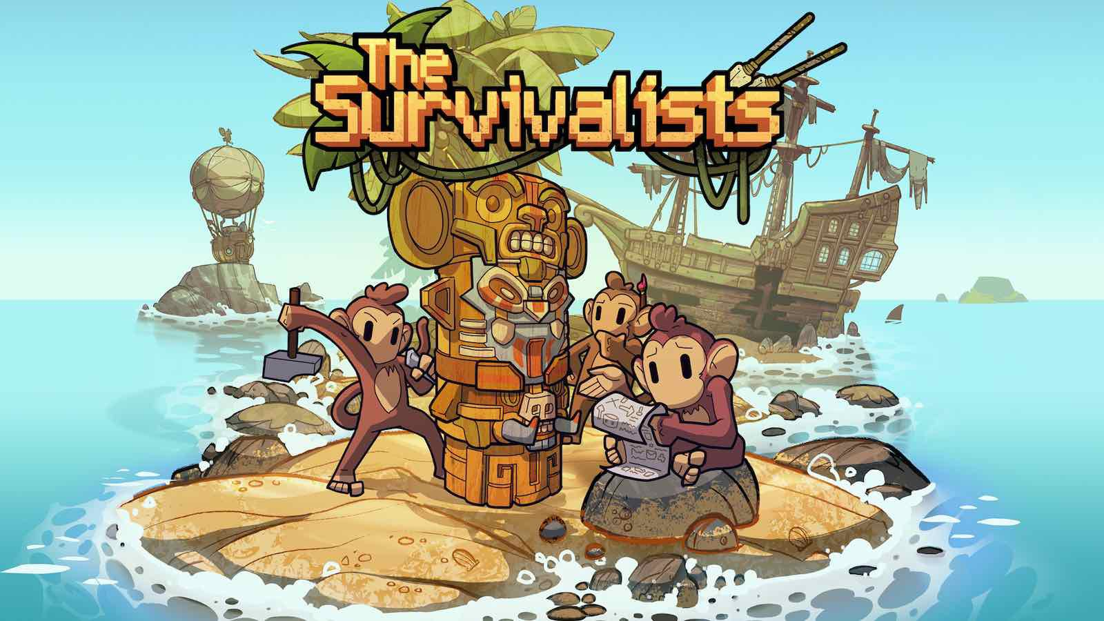 Island-Themed Sandbox Game 'The Survivalists' Debuts on Apple Arcade