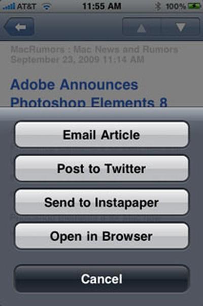 124145 newsgator menu