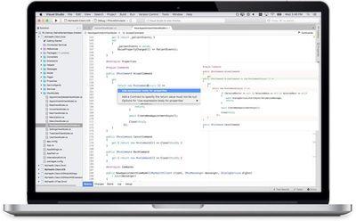 visual studio mac