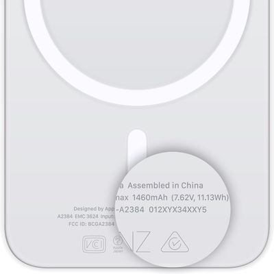 magsafe battery pack serial number