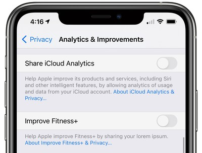 apple fitness plus ios 14 3 beta