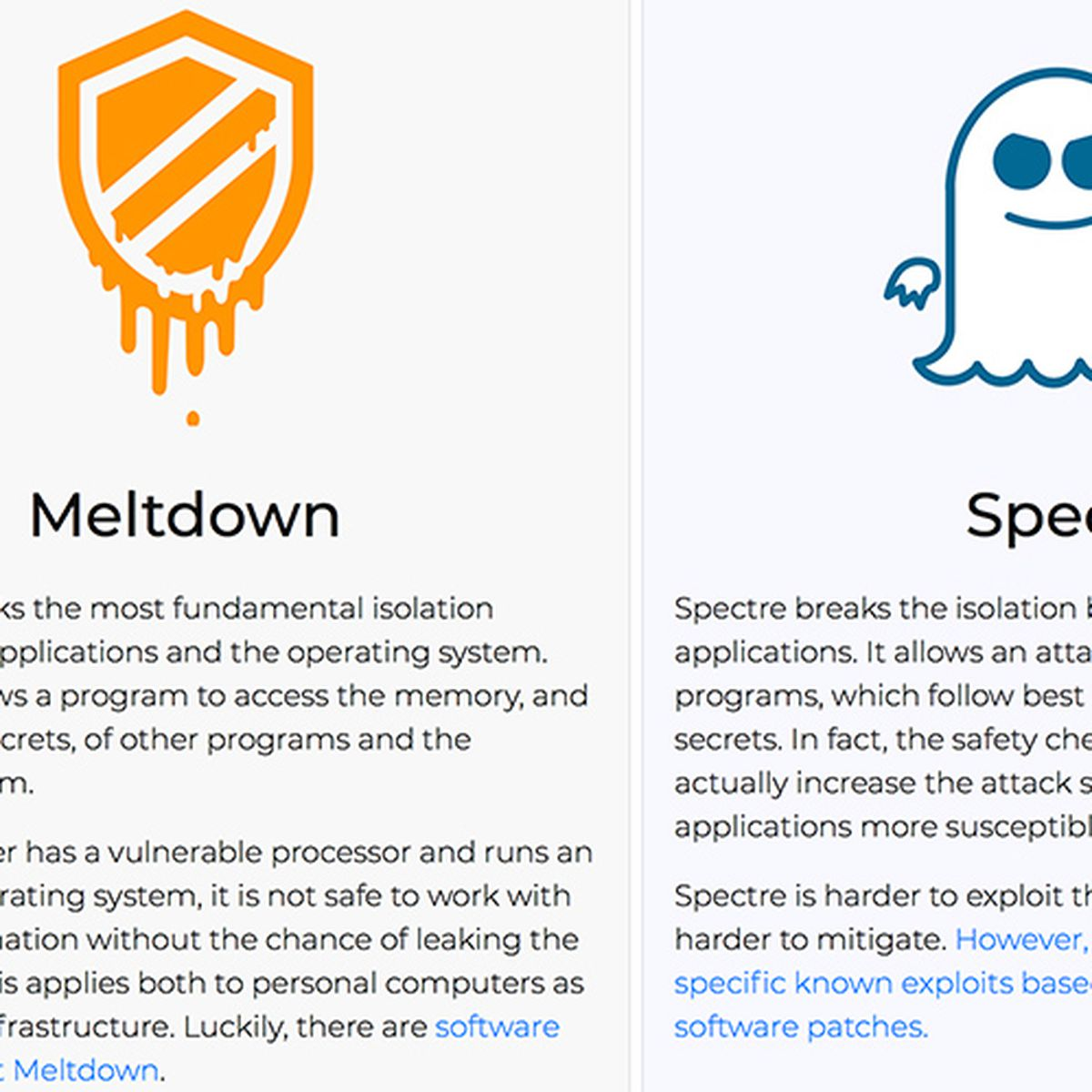 Apple Addresses Meltdown and Spectre in macOS Sierra and OS X El ...