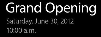 apple store openings 063012