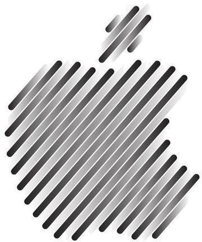 apple gray logo