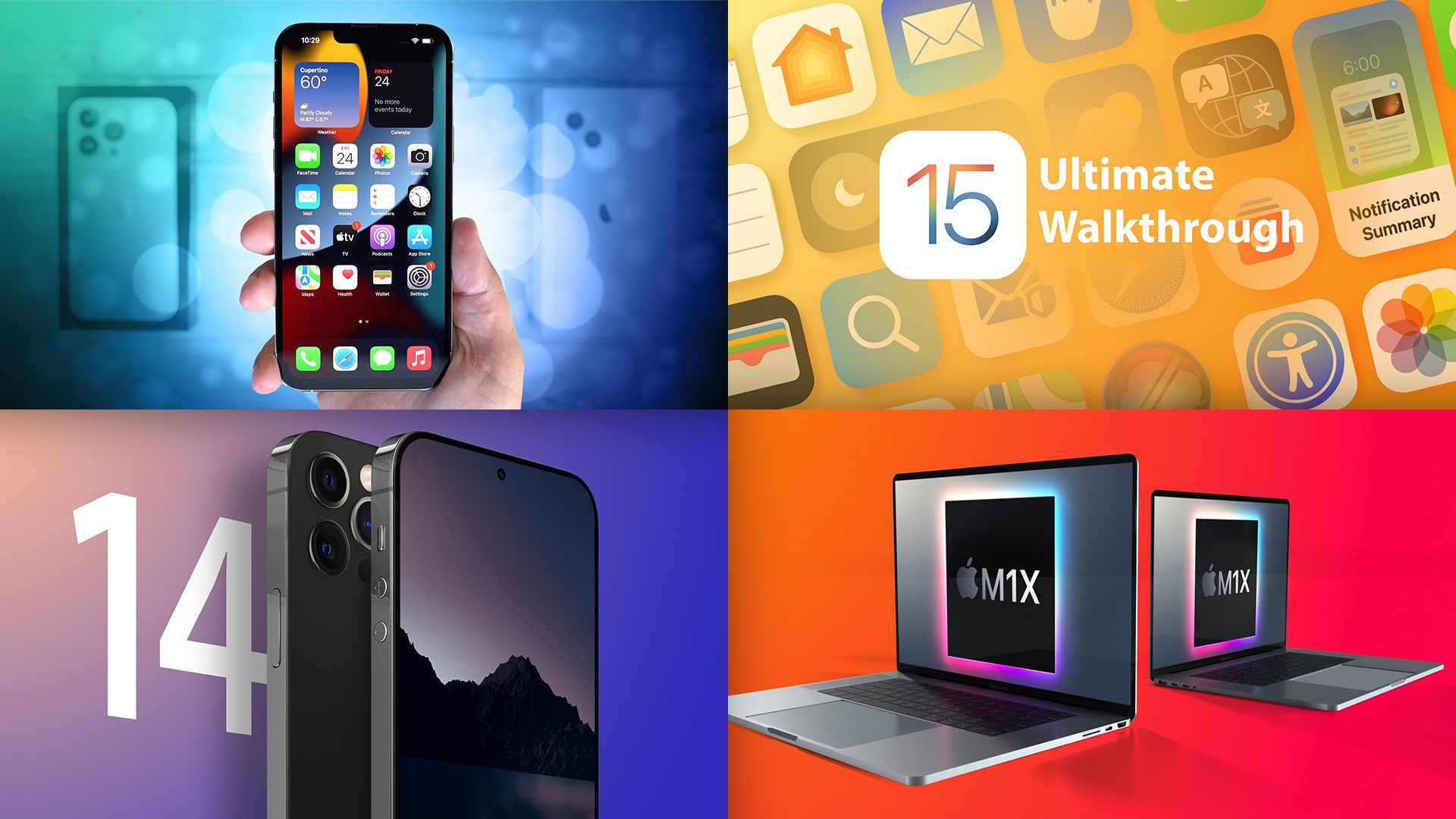 Top Stories: iPhone 13 Launch, iOS 15 Features, iPhone 14 Pro Rumors, and More