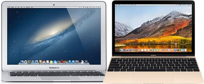 macbook air and 12 inch