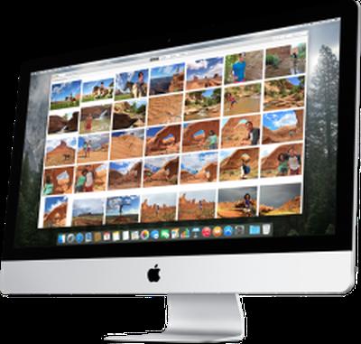 Photos for OS X iMac