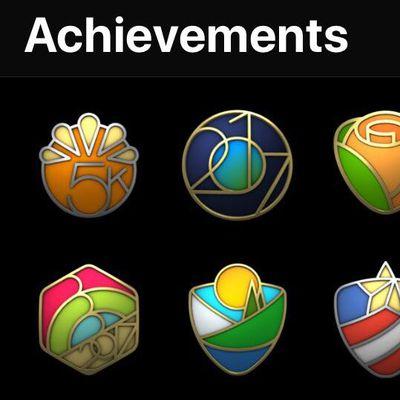 activity challenge awards