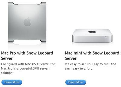 apple mini pro servers