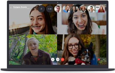 skype group call max 50