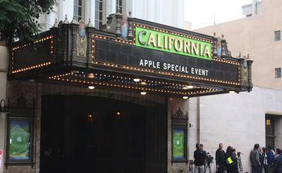 california theatre ipad mini event
