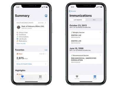 apple va health records