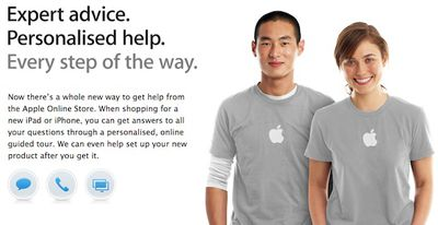apple online store specialist chat uk