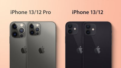 iPhone 13 Camera Backs