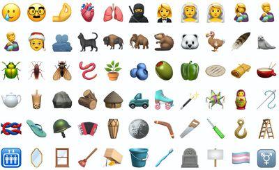 all new emoji in 14.2