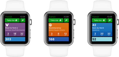 transit apple watch