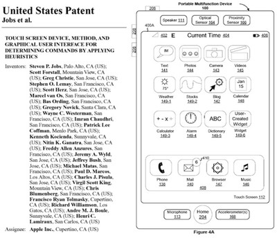 jobs iphone patent and figure
