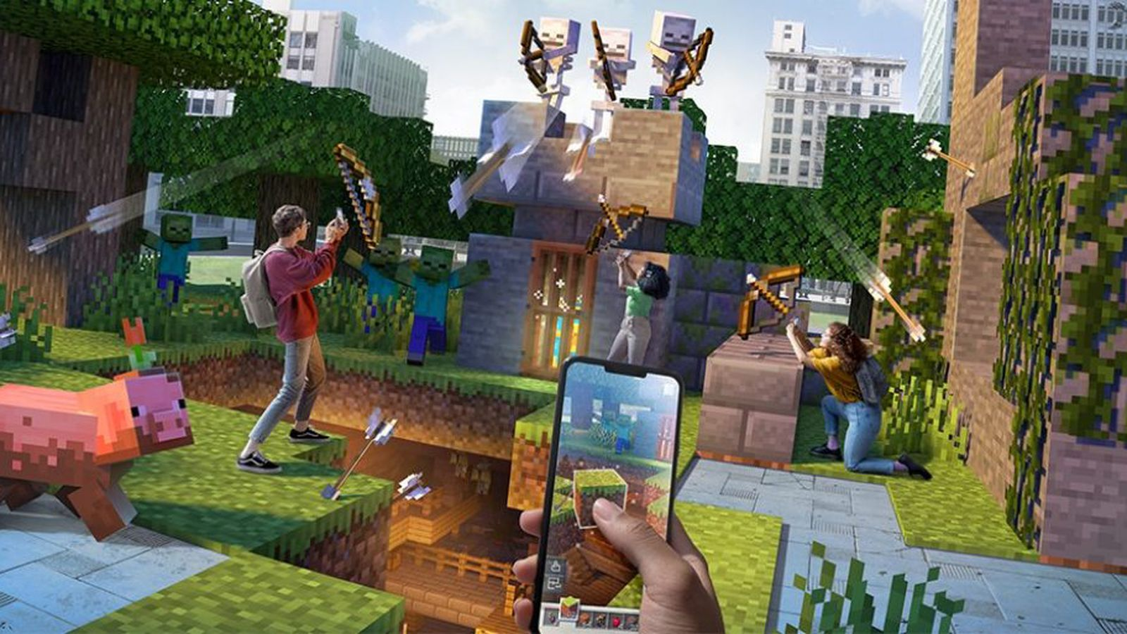 Minecraft Earth' Mobile AR Game to Shut Down Later This Year - MacRumors