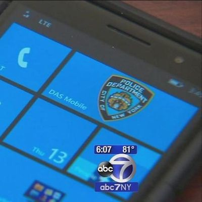NYPD windows phone