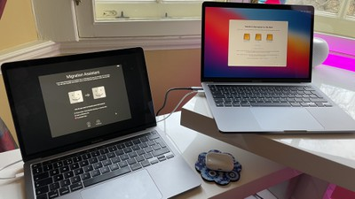 transfer files between macs
