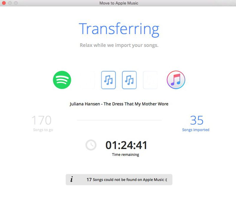 How to Move Spotfy Playlist to Apple Music 14